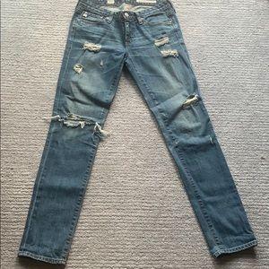 Adriano Goldschmeid skinny distressed jeans
